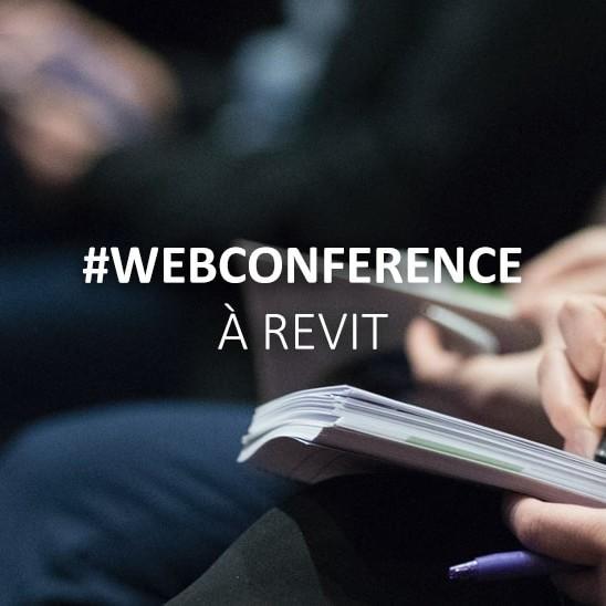 Recoba actualité web conférence Revit